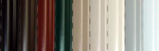 تیغه کرکره برقی رنگی
