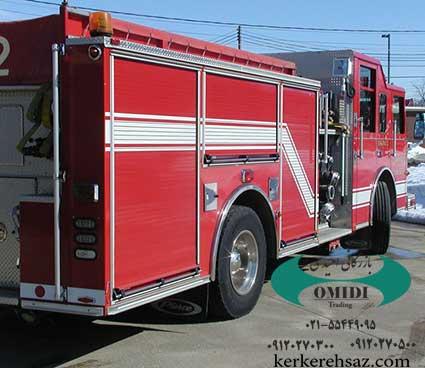 ماشین آتش نشانی با کرکره برقی